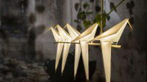 Origami โคมไฟนก น้อยสุดน่ารัก