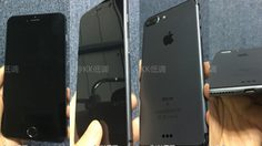 iPhone 7 plus สีใหม่ ล่าสุดโทนดำทั้งเรื่องในชื่อสี Space Black