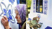 เจ๋งฝุดๆ คุณยายวัย 90 ปี โชว์ฝีมือ เพ้นท์สีน้ำ เปลี่ยนหมู่บ้านเล็กๆ เป็นแกลลอรี่แสนน่ารัก