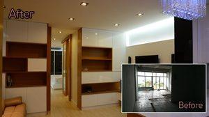 สวยพลิกฝ่ามือ รีโนเวทห้องนอน ขนาด 54 ตร.ม. บนตึกแถว 4 ชั้น
