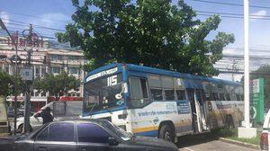ข่าวอุบัติเหตุ, รถชน, รถเมล์เบรคแตก, ข่าวสดวันนี้