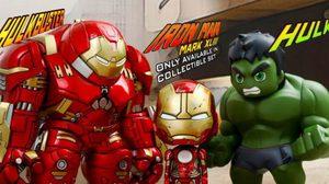 Avengers Cosbaby S1.5 เผยตัวจริงแล้วทั้ง Iron Man & Hulk