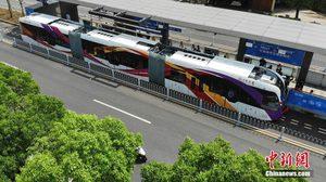 จีนยกระดับ ระบบขนส่งอัจฉริยะ ART ลูกผสมรถเมล์และรถไฟ ไม่พึ่งคนขับ