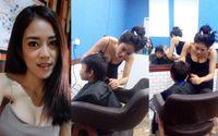 จองคิวเลย!! ช่างตัดผม สาวสุดเอ็กซ์ ที่เล่นเอาลูกค้าหนุ่มๆ โทรไปจองกันแทบไม่ทัน