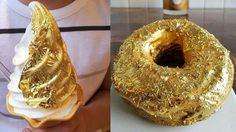 มีใครอยากกินมั้ย!! กับของหวานที่มีส่วนประกอบของ ทองคำ