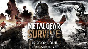 METAL GEAR SURVIVE เปิดตัว beta ให้เล่นฟรีแล้ว ของจริง 20 กุมภา