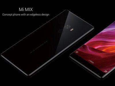 Xiaomi เผยโฉม Mi Mix สมาร์ทโฟนจอไร้ขอบงดงามอย่างภาพในฝัน
