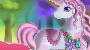 เกมส์แต่งตัว ม้ายูนิคอร์นโพนี่ Mystical Forest Unicorn