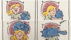 20 ภาพเรื่องจริง เมื่อคุณสาวๆ อยู่กับสัตว์เลี้ยงแสนรัก 'ทาสแมว' เท่านั้นที่เข้าใจ!!