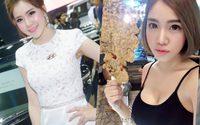 ฟ้า แม่ค้าขายปลาหมึกสุดสวย ในมุมของพริตตี้ฮุนได น่ารักอย่าบอกใครเชียว