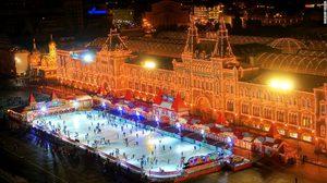Red Square Rink กรุงมอสโคว ประเทศรัสเซีย