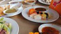 ห้องอาหาร Edge บุฟเฟ่ต์นานาชาติ บรรยากาศหรู