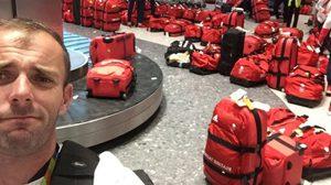 หากันตาแตก!! เมื่อเหล่านักกีฬาของอังกฤษเป็นอันต้องยืนงงกันที่สนามบินหลังกลับจาก โอลิมปิค 2016 ที่บราซิล