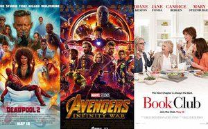 Deadpool 2 ขึ้นที่หนึ่งบ็อกซ์ออฟฟิศสหรัฐฯ!! Book Club ไม่น้อยหน้ามาที่สาม