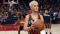 Katy Perry เปิดศึกบาสสุดป่วง! ในมิวสิควีดีโอ Swish Swish