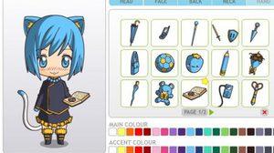 เกมส์แต่งตัวสาวอนิเมะ Anime Chibi Maker