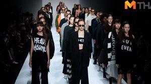 GREYHOUND ORIGINAL เรียบ คม แต่มีความมินิมัลในตัว ใน Elle fashion week 2016