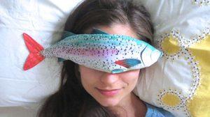 เก๋อะไรเบอร์นี้! หมอนปลาพักสายตา สำหรับ วันที่เหนื่อยล้า หมดแรง