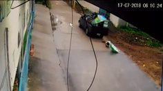 ร้องโซเชียล! ล่ากระบะถอยรถชนคนแก่ ก่อนขับไปไม่สนใจ