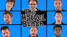 ทีมนักแสดง Avengers: Infinity War อวดเสียงเพราะในเพลง The Marvel Bunch!