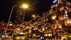 ตลาดหงหยาต้ง Hongyadong ย่ำราตรี แสงสีแห่งฉงชิ่ง