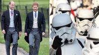 จอห์น โบเยกา น้ำท่วมปาก กรณีข่าวลือสองเจ้าชายแห่งราชวงศ์อังกฤษ รับบท สตอร์มทรูเปอร์ ใน The Last Jedi