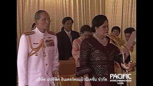 'พระคู่ขวัญ คู่พระบารมี' 30 เมษายน 2550 เสด็จฯ ไปทรงปล่อยเรือ ต.991