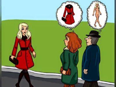 การ์ตูนล้อเลียน ความแตกต่างระหว่าง ผู้ชาย กับ ผู้หญิง มันใช่อ่ะ!!