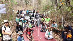 กลุ่มคัดค้าน 'บ้านพักตุลาการ' บวชป่ารอบพื้นที่ก่อสร้าง