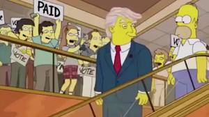 ไม่เชื่อก็ต้องเชื่อ Simpsons รู้นานแล้วว่า Trump ได้เป็นประธานาธิบดี