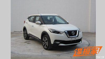 Nissan Kicks ไปโผล่ที่จีน งานนี้มีคนจับภาพไว้ได้