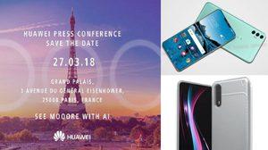 Huawei เผย P20 และ P20 Plus จะเป็น 2 รุ่น ที่มีกล้อง 3 ตัวด้านหลัง