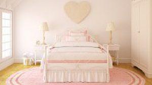 ไอเดียตัวอย่าง ตกแต่ง ห้องนอนสีชมพู