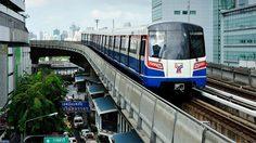 Bangkok's BTS SkyTrain Routes