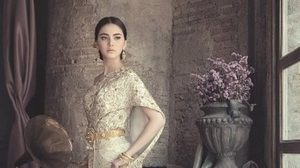 แฟชั่น ชุดไทยเจ้าสาว ใหม่ ดาวิกา ชุดไทยประยุกต์