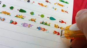 น่าใช้อีกแล้ว! เทปปากกา Deco Rush ตกแต่งลายการ์ตูน สไตล์ญี่ปุ่น
