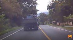 บรรทุกหกล้อสุดกร่างขับหวาดเสียว ผู้ใช้รถจี้ตำรวจ-ขนส่งจัดการ