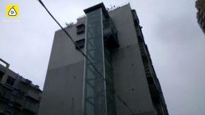 หนุ่มจีนจอมขี้เกียจ เบื่อที่ต้องเดินขึ้นบันได 6 ชั้นทุกวัน เลยสร้าง ลิฟต์ ส่วนตัวมันซะเลย