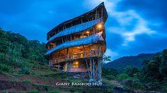 """บ้านไม้ไผ่ยักษ์ """"Giant Bamboo Hut"""""""