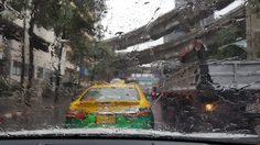 ฝนถล่มกรุง! หลายพื้นที่จราจรติดขัด น้ำเริ่มท่วมขัง