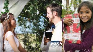 พรหมลิขิต หนุ่มมะกันแต่งงานกับสาวฟิลิปปินส์ ที่บริจาคของเล่นให้เมื่อ 14 ปีก่อน