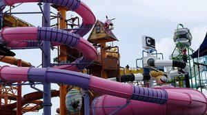 สวนน้ำการ์ตูนเน็ทเวิร์ค เที่ยวพัทยา | Cartoon Network Amazone