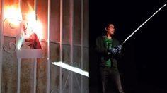 ดาบเลเซอร์สมจริง แบบสตาร์ วอร์ส พลังทำลายล้างสูงมาก!!!