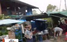 ชาวบ้านหนีตาย พายุหมุนพัดถล่ม จ.ชลบุรี