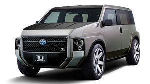 Toyota เตรียมเผยโฉมหน้ารถกล่อง Toyota Tj Cruiser ตัว Concept รุ่นใหม่