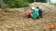 ชาว อ.อมก๋อย เดือดร้อนหนัก หลังดินสไลด์ทับเส้นทางหมู่บ้าน