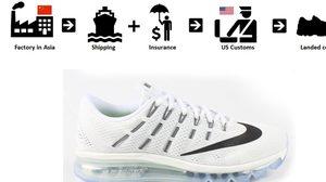 รู้เปล่า? ต้นทุนการผลิตรองเท้า จากแบรนด์ต่างๆ ที่จริงราคาถูกมาก