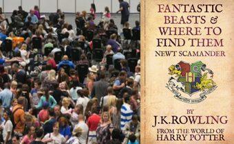 สาวอังกฤษนับร้อยแห่สมัครออดิชั่น Harry Potter ภาคใหม่