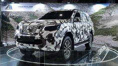 Nissan Terra ลาย Camo โชว์ตัว พร้อมลุยตลาดรถ SUV ที่ ฟิลิปปินส์  เร็วๆนี้