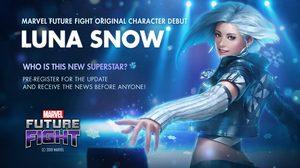 MARVEL FUTURE FIGHT เปิดตัวฮีโร่สาวไอดอลเกาหลีพลังน้ำแข็ง ลูน่า สโนว์